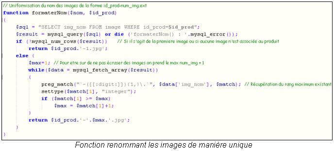 PHP renommer fichier
