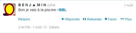 Twitter #BBL
