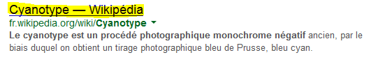 Cyanotype sur Wikipédia